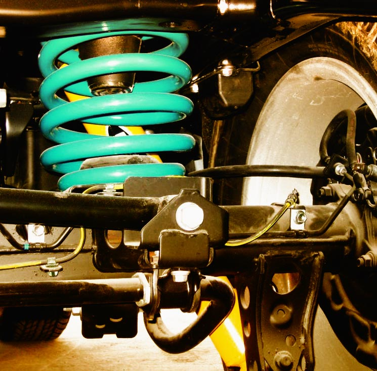 Heavy Duty Modified Suspension